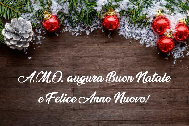 A.M.O. augura Buon Natale e Felice Anno Nuovo!